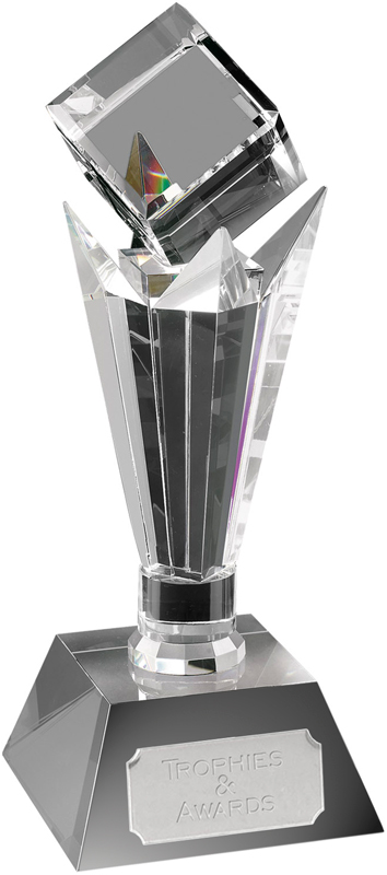 "Optical Crystal Mirage Award 28cm (11"")"