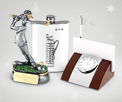 Personalised Christmas Golfing Gifts